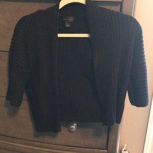 Worthington short black sweater